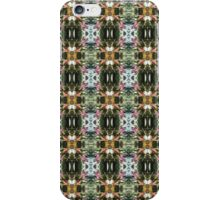 red Malus 'Radiant' crab apple blossoms #12 pattern iPhone Case/Skin