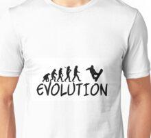 Snowboard Evolution - Funny design Unisex T-Shirt