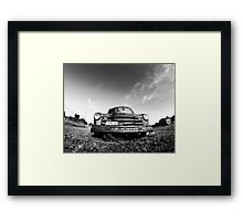 Maine or Bust Framed Print