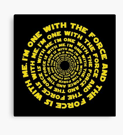 ROGUE ONE - ONE WITH THE FORCE Canvas Print