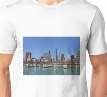 Chicago lakefront in summer Unisex T-Shirt