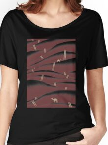 Camels And Ladders Women's Relaxed Fit T-Shirt