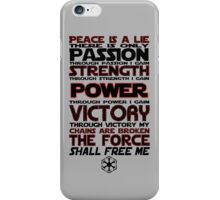 Peace is a LIE! iPhone Case/Skin