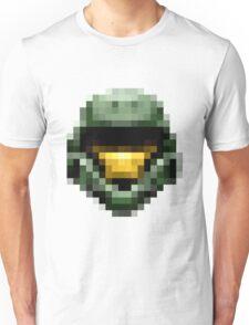 8bit Helmet front view  Unisex T-Shirt