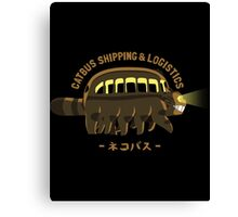 Catbus Shipping   Logistics Canvas Print