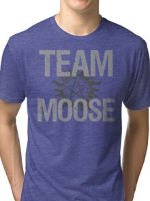 Supernatural Team Moose Tri-blend T-Shirt