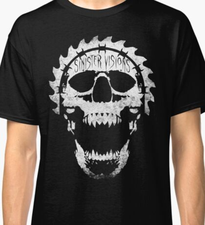Sinister Visions Screaming Skull Classic T-Shirt
