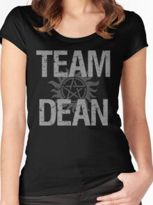 Supernatural Team Dean Women's Fitted Scoop T-Shirt