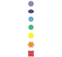 The Seven Chakras by annekulinski