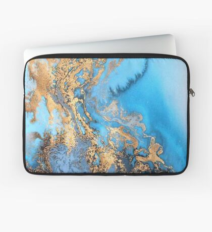 Marble watercolour Laptop Sleeve