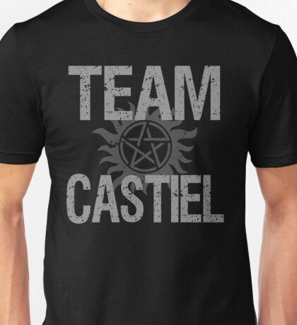 Supernatural Team Castiel Unisex T-Shirt