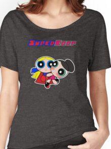 Super(puff)Corp  Women's Relaxed Fit T-Shirt