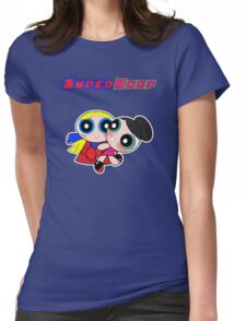 Super(puff)Corp  Womens Fitted T-Shirt
