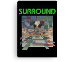 SURROUND - ATARI 2600 CLASSIC LABEL Canvas Print