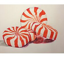 Peppermints Drawing Photographic Print