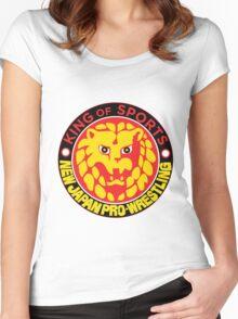 NJPW Women's Fitted Scoop T-Shirt