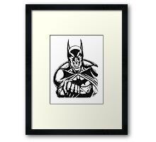 Rage of the Bat Framed Print