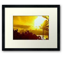 Árido Arpoador Framed Print