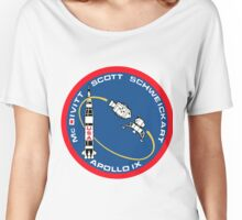 Apollo 9 Mission Logo Women's Relaxed Fit T-Shirt