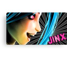 Jinx Design Print Canvas Print