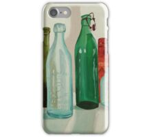 Antique Glass Bottles Painting iPhone Case/Skin