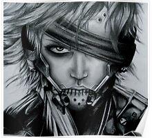 Raiden (Jack) Metal Gear Rising Poster