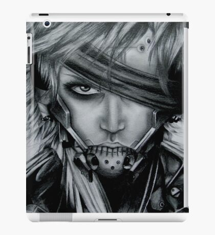 Raiden (Jack) Metal Gear Rising iPad Case/Skin