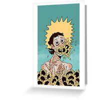 yellow Greeting Card