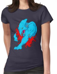 Blue Saber Womens Fitted T-Shirt