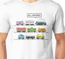 Ticket All Aboard Unisex T-Shirt