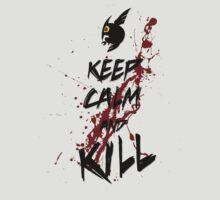 Akame ga KILL! - Keep calm and kill T-Shirt / Phone / Pillow 1 by Fenx