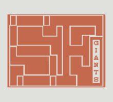 SF GIANTS 8BIT by Luwee