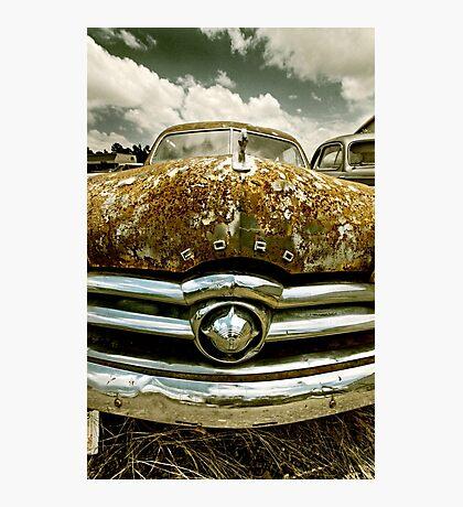 Abandoned 1949 Ford Custom - Shoebox Photographic Print
