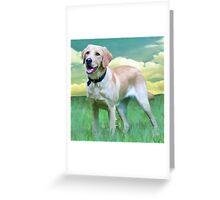 Gwyneth - Guide Dog In Training Greeting Card