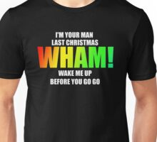 WHAM! - songs Unisex T-Shirt