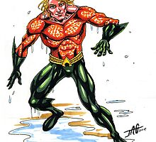 Aquaman by JohnnyGolden