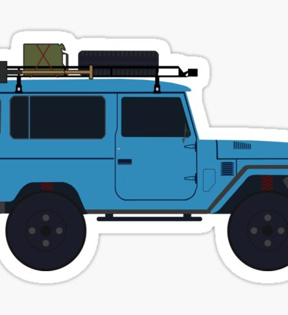 Toyota land Cruiser FJ40  Sticker
