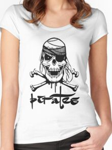 Skulls Women's Fitted Scoop T-Shirt