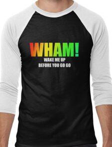 WHAM! - Wake me up Men's Baseball ¾ T-Shirt