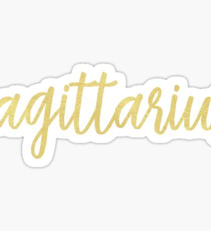 Sagittarius Sticker