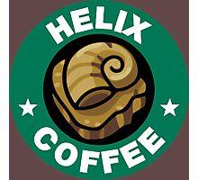 Helix Coffee ~ Color Photographic Print