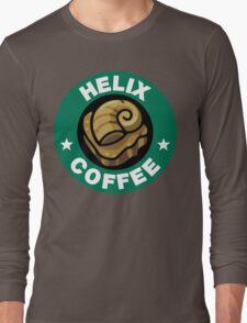 Helix Coffee ~ Color Long Sleeve T-Shirt