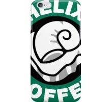 Helix Coffee ~ Black and White iPhone Case/Skin