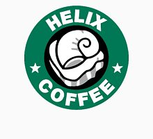 Helix Coffee ~ Black and White Unisex T-Shirt