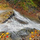 Looking Down Buttermilk Falls by Kenneth Keifer
