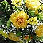 Yellow Roses by BlueMoonRose