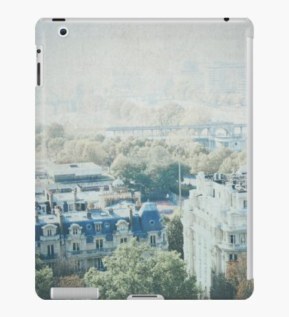 Letters From The Seine - Paris iPad Case/Skin
