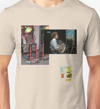 Raf Simons Bob ross dance dance revolution extreme  Unisex T-Shirt