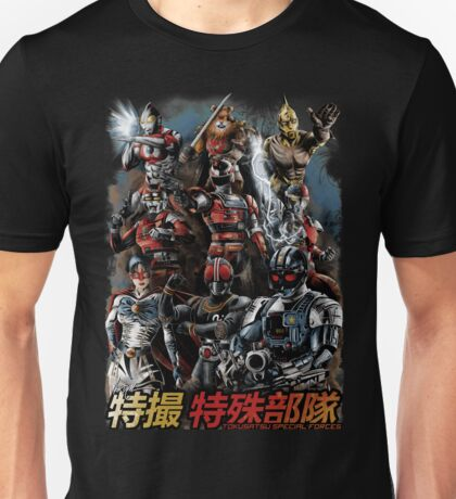 TOKUSATSU | SPECIAL FORCES Unisex T-Shirt