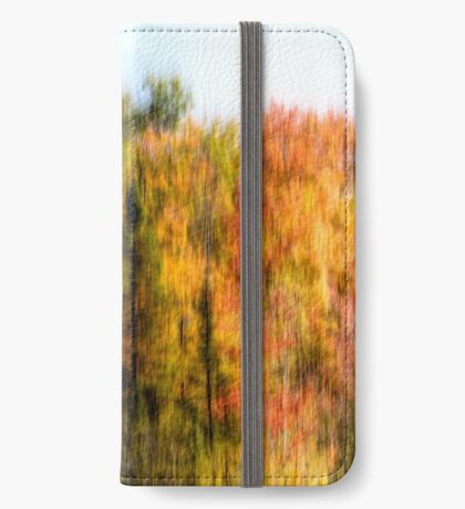 Colorful Autumn Trees iPhone Wallet/Case/Skin
